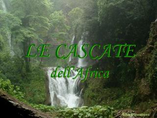 LE CASCATE dell'Africa