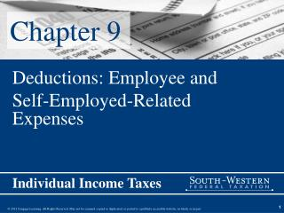 Deductions: Employee and  Self-Employed-Related Expenses