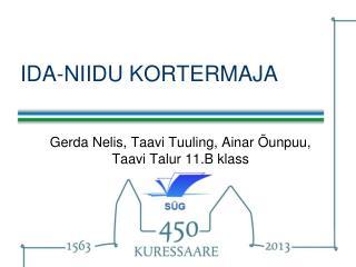 IDA-NIIDU KORTERMAJA