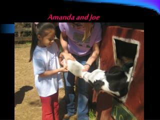 Amanda and Joe