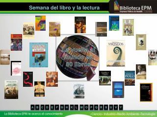La vuelta al mundo en 80 libros