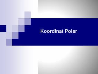 Koordinat Polar