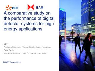 A comparative study on the performance of digital detector systems for high energy applications