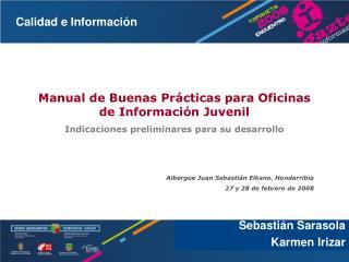 Manual de Buenas Prácticas para Oficinas de Información Juvenil