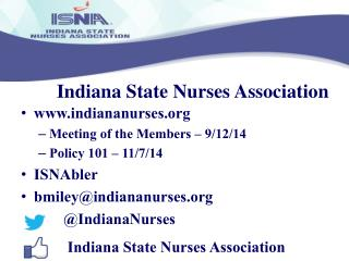 Indiana State Nurses Association