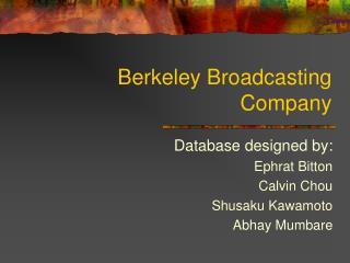 Berkeley Broadcasting Company