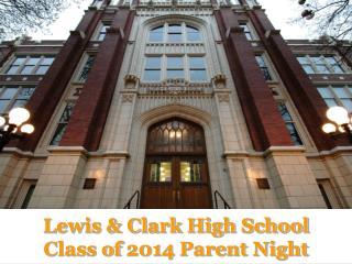 Lewis  Clark High School