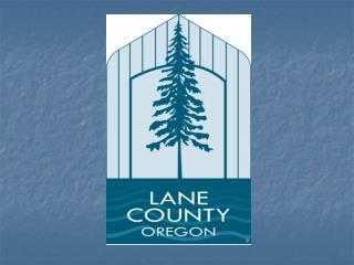 Lane County Building and Subsurface Sanitation Programs
