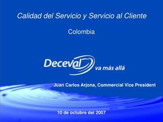Calidad del Servicio y Servicio al Cliente