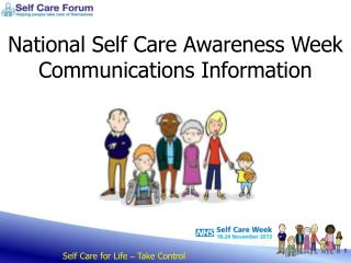 National Self Care Awareness Week Communications Information