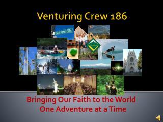 Venturing Crew 186