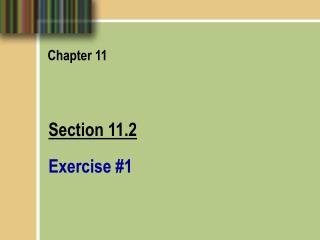 Section 11.2