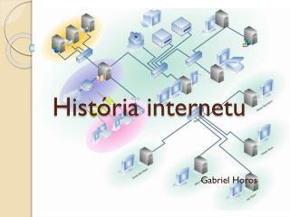 História internetu