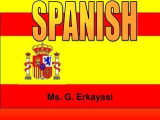 Ms. G. Erkayasi