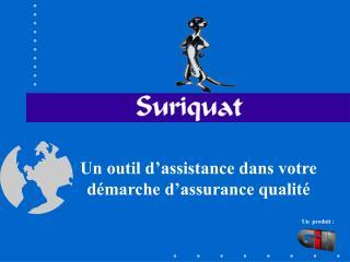 Un outil d'assistance dans votre démarche d'assurance qualité