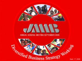 Diversified Business Strategy Working
