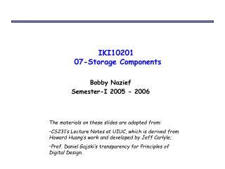 IKI10201  07-Storage Components