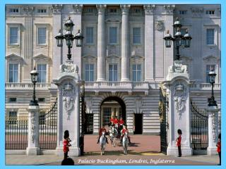 Palacio Buckingham, Londres, Inglaterra