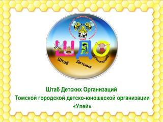 Штаб Детских Организаций  Томской городской детско-юношеской организации  «Улей»