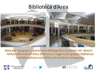 Biblioteca d�Area