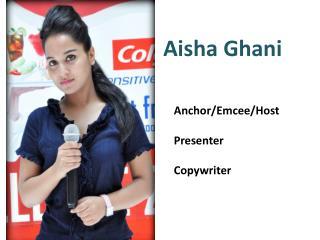 Aisha Ghani