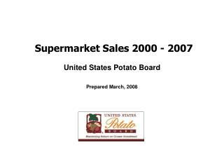 Supermarket Sales 2000 - 2007