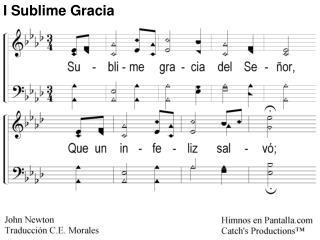 Sublime Gracia 1