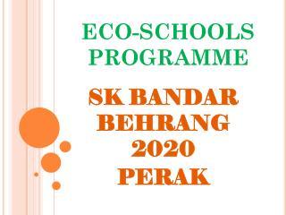 ECO-SCHOOLS PROGRAMME