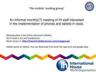 The mobile  ' reading group '