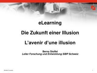 Phasen der ICT - eLearning Entwicklung