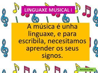 LINGUAXE MUSICAL  I