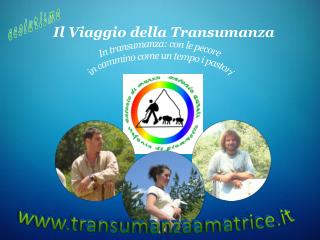 Il Viaggio della Transumanza