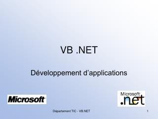 VB .NET