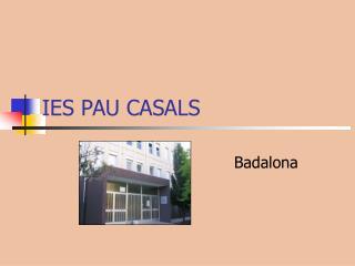 IES PAU CASALS