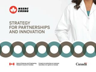 Strategy for Partnerships And Innovation