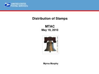 Distribution of Stamps MTAC May 19, 2010