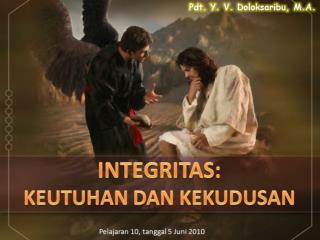 INTEGRITAS YESUS