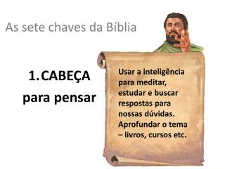As sete chaves da B íblia