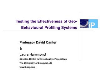 Testing the Effectiveness of Geo-Behavioural Profiling Systems