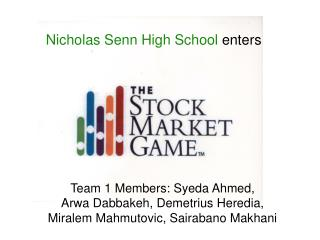 Nicholas Senn High School  enters
