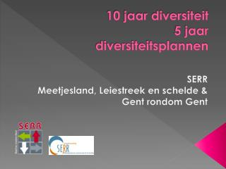 10 jaar diversiteit 5 jaar  diversiteitsplannen