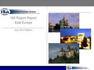 ISA Region Report East Europe