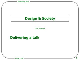 Design & Society