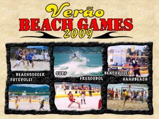 O que � o BEACH GAMES  Ver�o ?