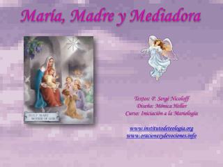 María, Madre y Mediadora