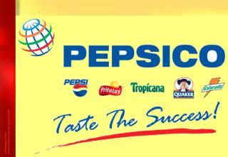PepsiCo tooteportfell