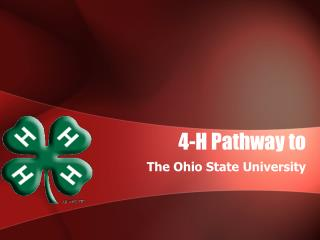 4-H Pathway to