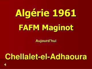 Algérie 1961