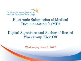 Wednesday June 6, 2012