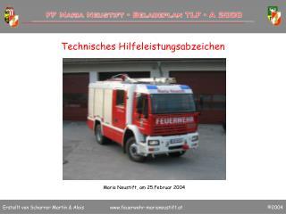 Technisches Hilfeleistungsabzeichen